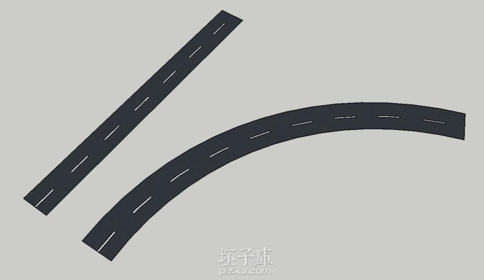 sketchup 道路